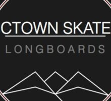 C. Town Skate Coat of Arms Sticker