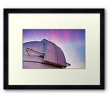 Closed For The Night Framed Print