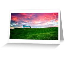 Sunset Over Arboretum Greeting Card