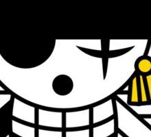 one piece straw hat roronoa zoro anime manga shirt Sticker