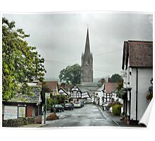 Weobly - Herefordshire .  Poster