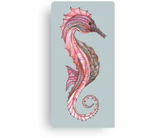 Tangled Seahorse Right Facing Canvas Print