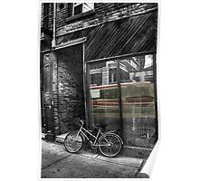 The Streetcar and the Bicycle Poster