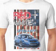 Red White & Brappp : STi Unisex T-Shirt