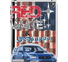 Red White & Brappp : STi iPad Case/Skin