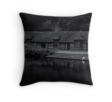 Drinking from the waters of self. Throw Pillow