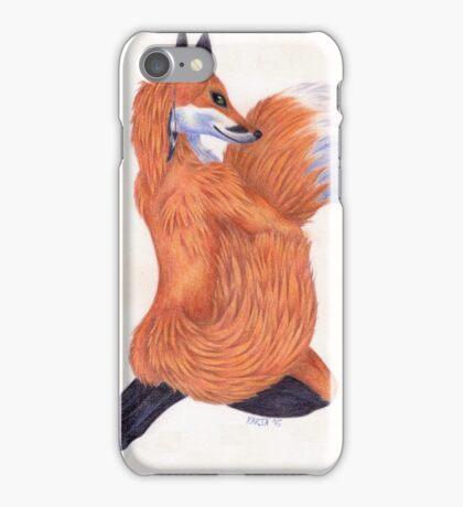 Anthro Fox iPhone Case/Skin