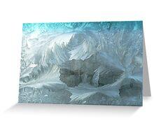 2004 Winter Windshield Ice Greeting Card