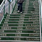 Olympian Stairs by Marylou Badeaux