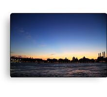 Alphabet City at dusk Canvas Print