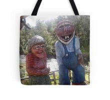 Norway trolls Tote Bag
