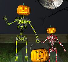 Trick or treat by Carol and Mike Werner