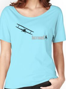 North by Northwest (black) Women's Relaxed Fit T-Shirt