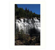 top of Mink Falls creek - Marathon Ontario Art Print