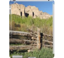 This Old Fence iPad Case/Skin