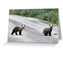 Bear season 2 Greeting Card