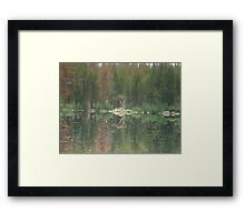 Reflections of Reality Framed Print