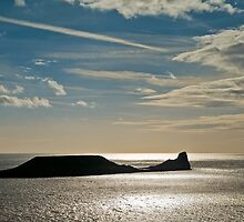 Worm's Head, Rhossili by Steve  Liptrot