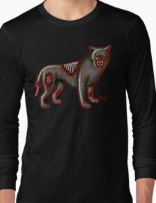 Canis Zombis Lupis Long Sleeve T-Shirt