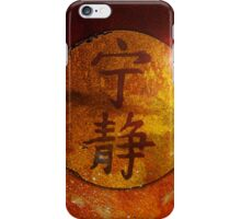 Symbol of Serenity iPhone Case/Skin