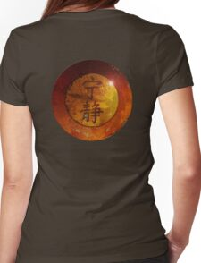 Symbol of Serenity Womens Fitted T-Shirt