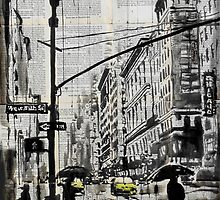 one day in N.Y. by Loui  Jover