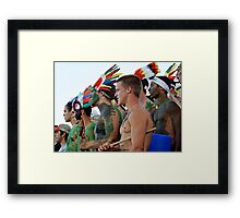 Fans in the Stands Framed Print