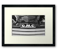 Granddad's Motor Coach Framed Print