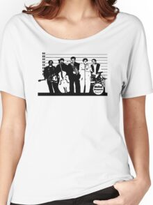 The Usual Suspects Band Women's Relaxed Fit T-Shirt