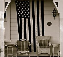 Old Glory, Old House by Joseph T. Meirose IV