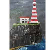 Welcome Sight on a Stormy Night Photographic Print