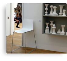 Exhibition rooms with chairs! Canvas Print