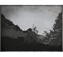 The Avalanche Photographic Print