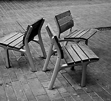 Three seats by Peter H. Daly