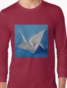 Origami Crane Long Sleeve T-Shirt