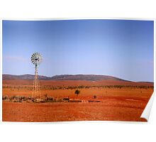 Water vane in the Outback Poster