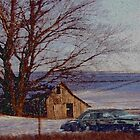Barn And Car by dbuckman