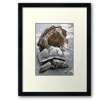 Turtle Loving Framed Print
