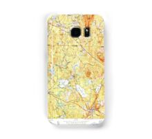 Massachusetts  USGS Historical Topo Map MA Ashburnham 351465 1950 31680 Samsung Galaxy Case/Skin