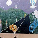 Graffiti wall by Ali Brown