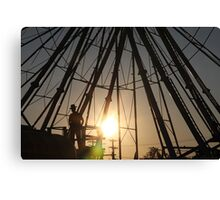 Midway Watch Canvas Print