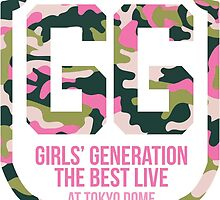 Girls' Generation (SNSD) The Best Live at Tokyo Dome Shield by ikpopstore