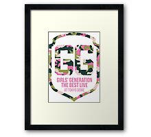 Girls' Generation (SNSD) The Best Live at Tokyo Dome Shield Framed Print