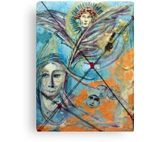 Icarus Was Too Big  for His Britches Canvas Print