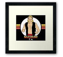 Magnum T.A. Framed Print