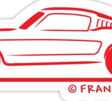1965 Mustang Convertible Sticker