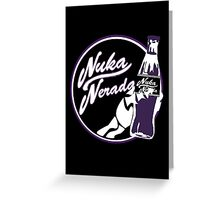 Nuka Nerada - Fallout Doctor Who Greeting Card