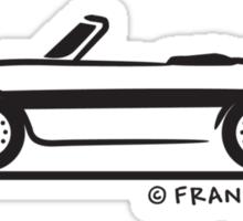 Alfa Romeo Spider Duetto Sticker