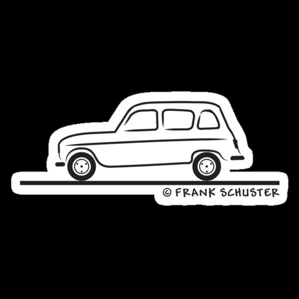 Renault R4 Quatrelle by Frank Schuster