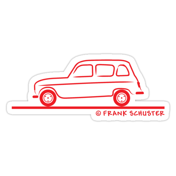 Renault R4 by Frank Schuster